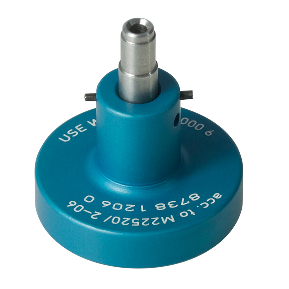 MIL single pin locator blue