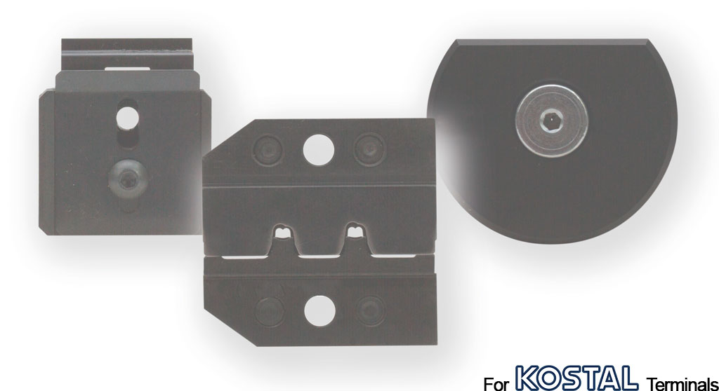 Crimp Die Set with Locator and Wire Stop for Kostal SLK 2.8