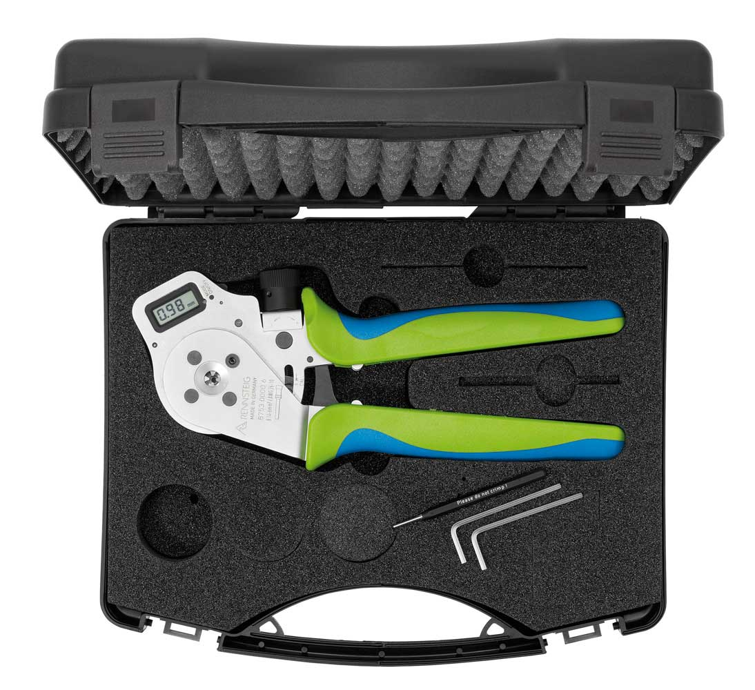 Tool with Locator in Plastic Case