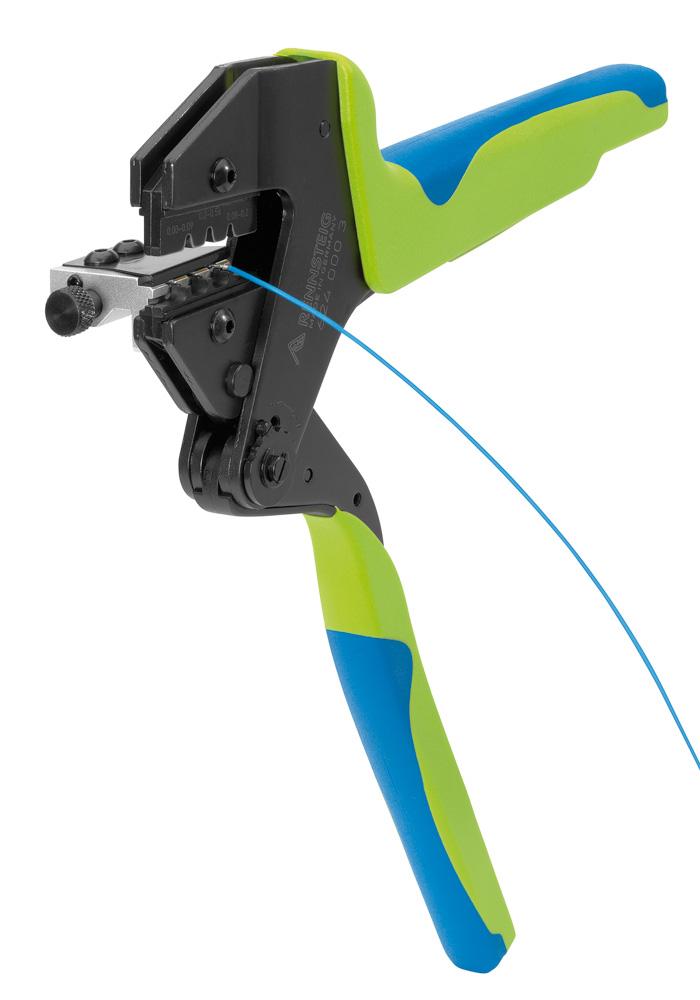 Crimp System Tool for Crimping D-Sub Plugs