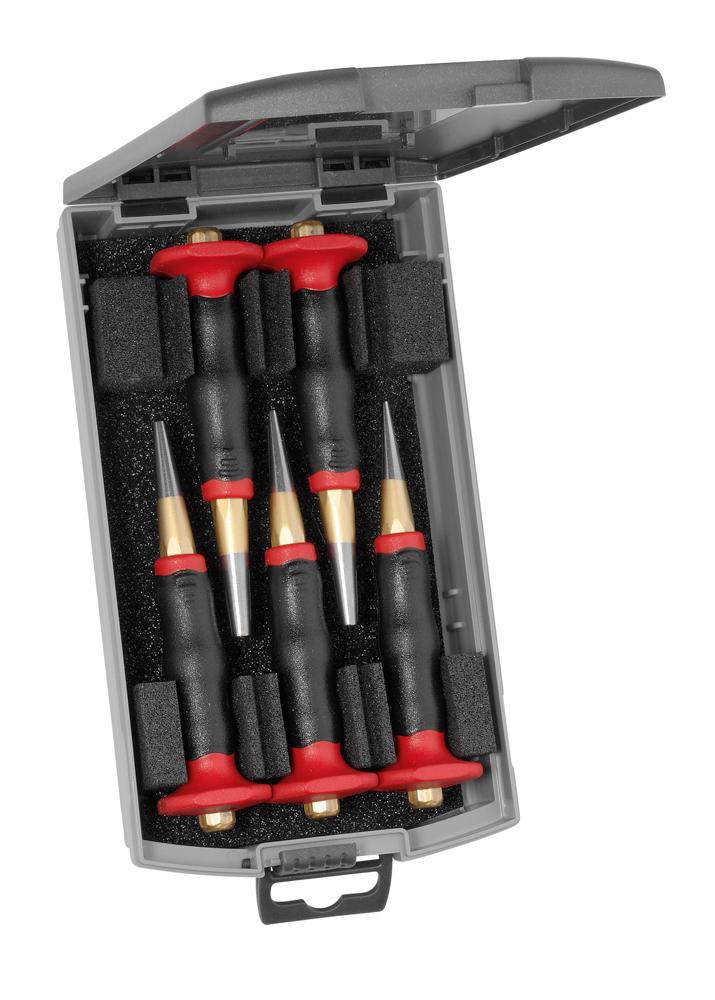 Rennsteig 6-Piece Parallel Pin Punch Set
