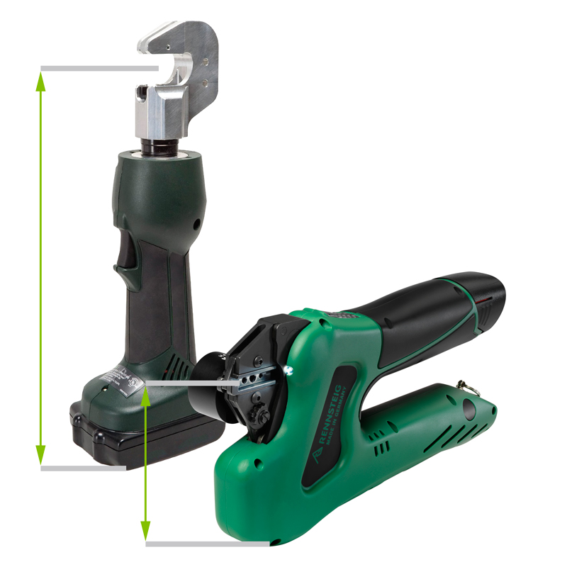 Eforce battery powered crimping tool for Bench tool system