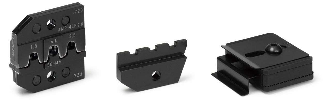 CRIMP DIE SET for MCP 2.8 and Sensor Flattype 2.8