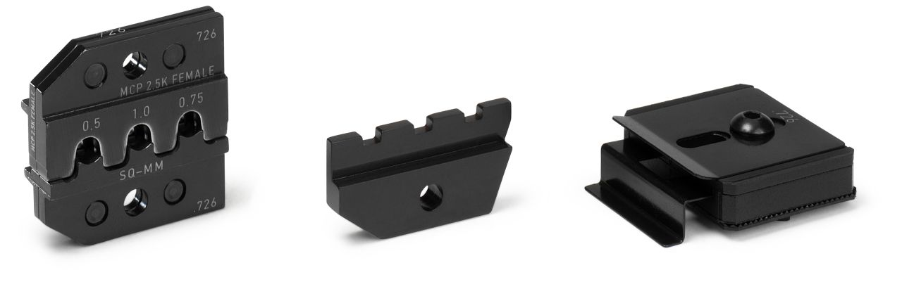 CRIMP DIE SET for MCP (SWS) and Sensor-Flattype Rec. (SWS) 2.8 mm