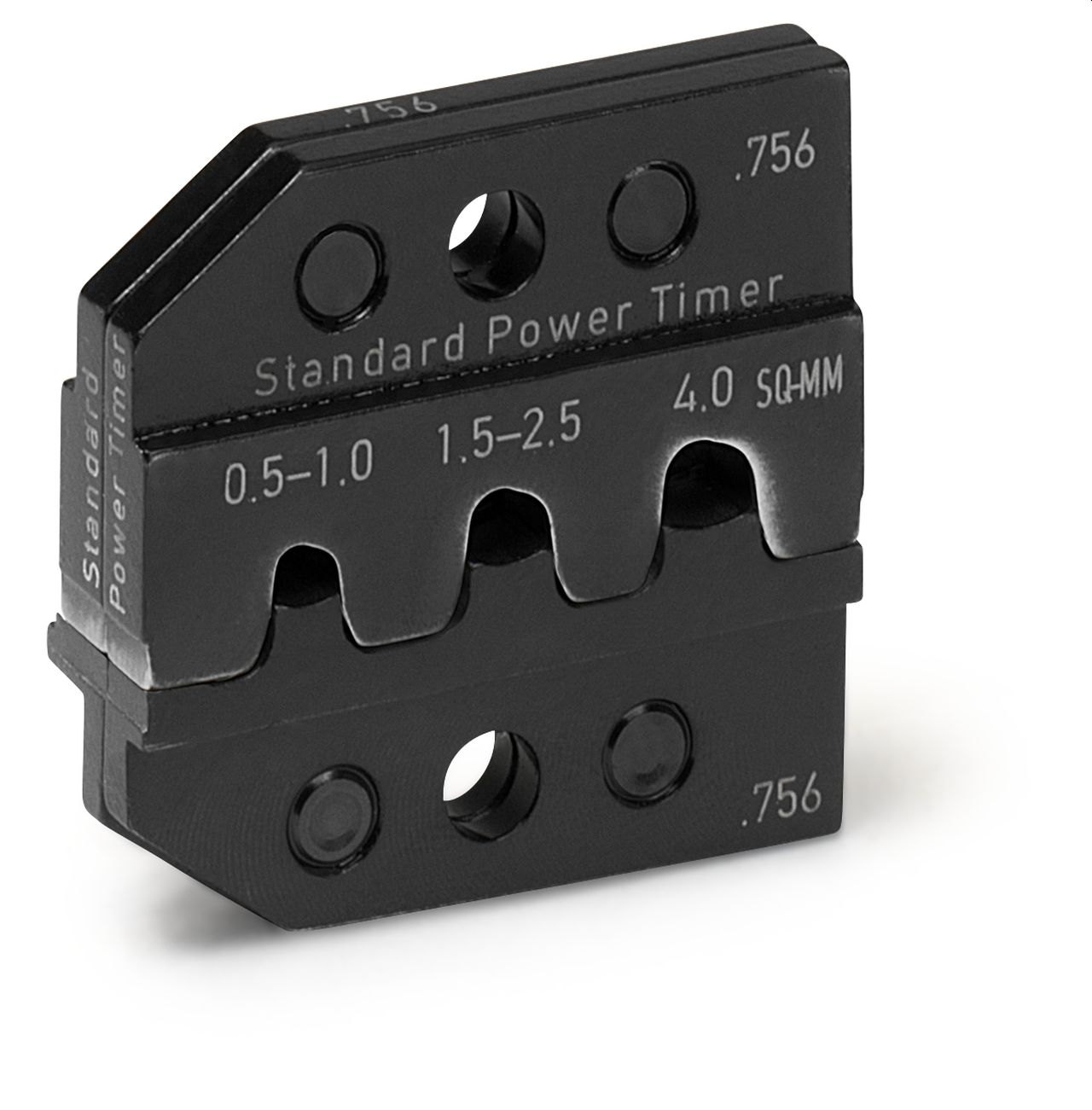 CRIMP DIE SET for Standard Power Timer, 0.5 - 4.0 SQ-MM
