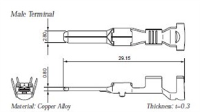 Terminal illustration for 7114-4150-02 / 7114-4151-02