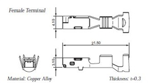 Terminal illustration for 7116-4150-02 / 7116-4151-02